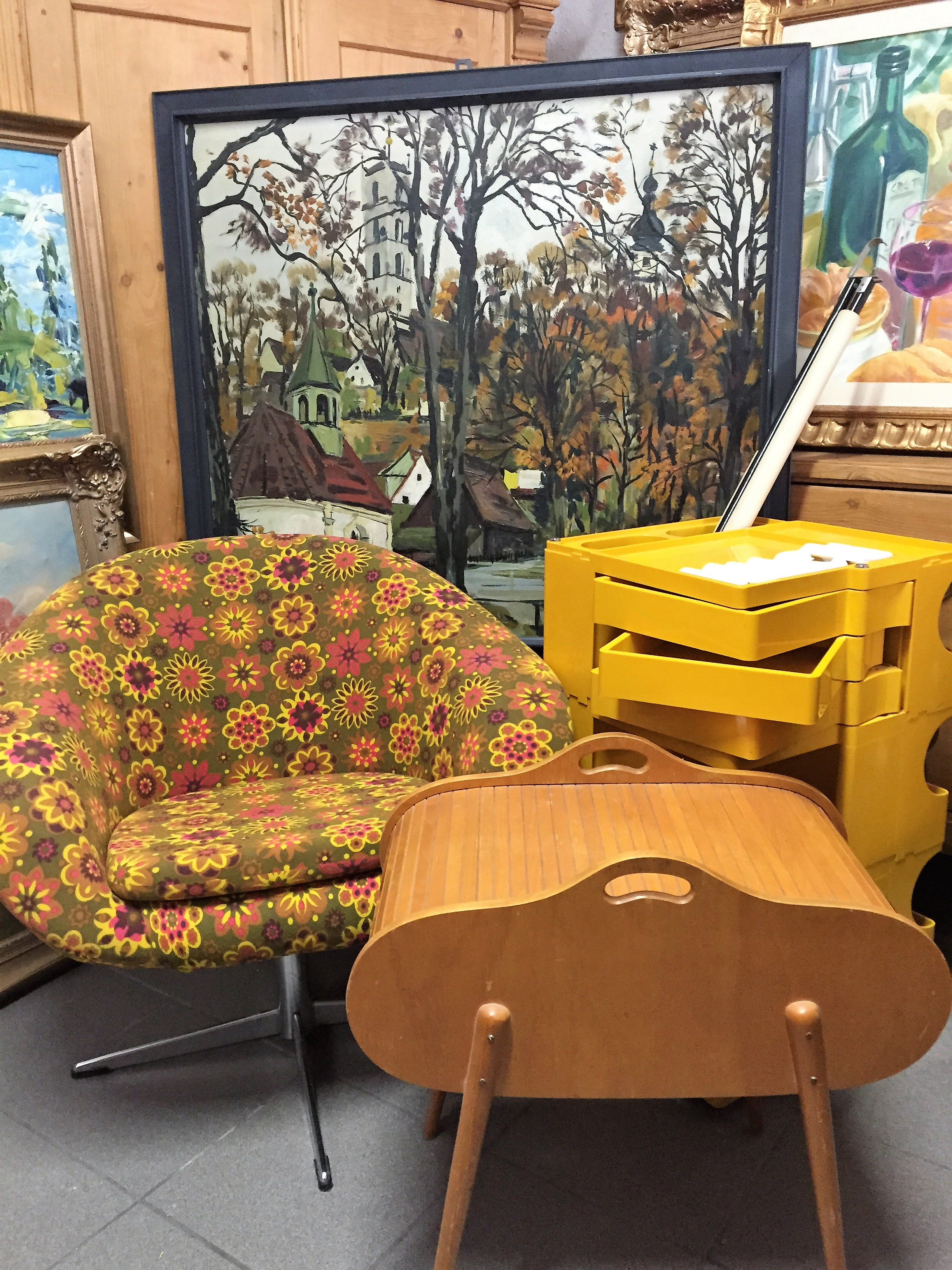 60er jahre m bel 1a antik. Black Bedroom Furniture Sets. Home Design Ideas